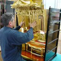 仏壇職人・組立て ~金仏壇が出来るまで・お仏壇の知識~