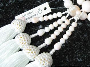 女性用数珠(京念珠)本珊瑚 二輪の通販・販売