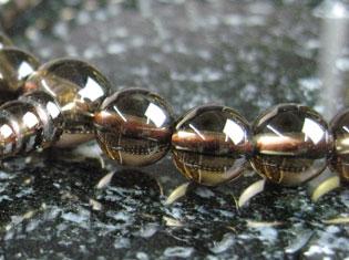 女性用数珠(京念珠)茶水晶/共仕立の通販・販売