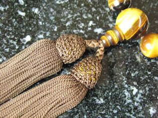 男性用数珠(京念珠)虎目石/共仕立の通販・販売