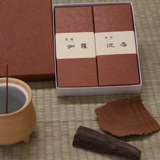 お供え用線香/進物線香 風韻-伽羅・沈香セットの通販・販売